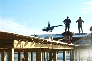 Filming The Aerial Shots | DIY Network TV Series